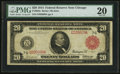 Large Size:Federal Reserve Notes, Fr. 958a $20 1914 Red Seal Federal Reserve Note PMG Very Fine 20.. ...