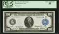 Fr. 1104 $100 1914 Federal Reserve Note PCGS Choice About New 55