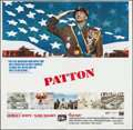 "Movie Posters:War, Patton (20th Century Fox, 1970). Six Sheet (77"" X 77""). War.. ..."