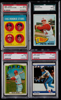 Baseball Cards:Lots, 1963 Through 1987 Pete Rose Collection (103) Plus The Pete RoseStory Set (120 cards)....