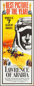 "Movie Posters:Academy Award Winners, Lawrence of Arabia (Columbia, 1962). Insert (14"" X 36"") AcademyAward Style B. Academy Award Winners.. ..."