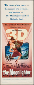 """Movie Posters:Western, The Moonlighter (Warner Brothers, 1953). Insert (14"""" X 36"""") 3-DStyle. Western.. ..."""