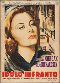 "The Fallen Idol (Minerva Films, 1949). Italian 2 - Foglio (39.5"" X 55""). Film Noir"
