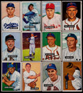 Baseball Cards:Sets, 1951 Bowman Baseball Partial Set (198/324) With 40 High Numbers. ...