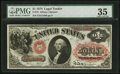 Large Size:Legal Tender Notes, Fr. 19 $1 1874 Legal Tender PMG Choice Very Fine 35.. ...