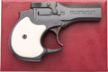 Handguns:Semiautomatic Pistol, Boxed High Standard Model DM-101 Over & Under Derringer....