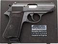 Handguns:Semiautomatic Pistol, Cased Walther Model PPK/S Semi-Automatic Pistol....