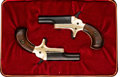Handguns:Derringer, Palm, Pair of Cased Colt Derringers.... (Total: 2 Items)