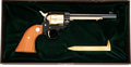 Handguns:Single Action Revolver, Cased Colt Golden Spike Commemorative Single Action Frontier Scout Revolver....