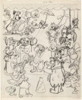 Animation Art:Production Drawing, Top Cat Newspaper Advertisement Drawing (Hanna-Barbera, 1961)....