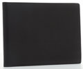 "Luxury Accessories:Accessories, Hermes Black Courchevel Leather Bifold Wallet. Very GoodCondition. 5.5"" Width x 4"" Height. ..."
