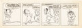 Animation Art:Production Drawing, Chuck Jones Crawford Daily Comic Strip Original Art (ChicagoTribune, 1978). ...
