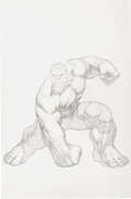 Original Comic Art:Splash Pages, Dale Keown Hulk Movie Pin-Up Original Art (undated)....