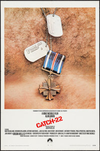 "Catch-22 & Other Lot (Paramount, 1970). One Sheet (27"" X 41"") & Half Sheet (22"" X 28""..."
