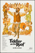 "Movie Posters:Musical, Fiddler on the Roof & Other Lot (United Artists, 1972). One Sheet (27"" X 41"") & Insert (14"" X 36""). Musical.. ... (Total: 2 Items)"