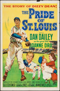 """Movie Posters:Sports, The Pride of St. Louis (20th Century Fox, 1952). One Sheet (27"""" X41""""). Sports.. ..."""