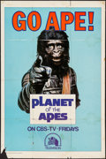 """Movie Posters:Science Fiction, Go Ape! (20th Century Fox, 1974). Television One Sheet (27"""" X 41""""). Science Fiction.. ..."""