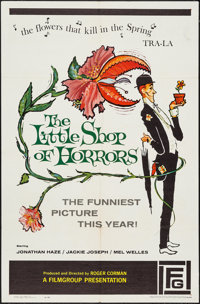 "The Little Shop of Horrors (Film Group, 1960). One Sheet (27"" X 41""). Comedy"