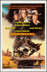 "Once Upon a Time in the West (Paramount, 1969). One Sheet (27"" X 41""). Western"