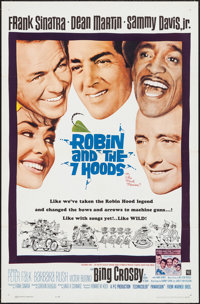 """Robin and the 7 Hoods (Warner Brothers, 1964). One Sheet (27"""" X 41""""). Comedy"""