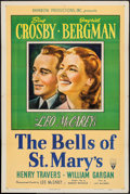 """Movie Posters:Drama, The Bells of St. Mary's (RKO, 1946). One Sheet (27"""" X 41""""). Drama....."""
