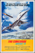 "Movie Posters:Action, The Concorde: Airport '79 (Universal, 1979). One Sheets (2) (27"" X 41"") Style A & B, Lobby Card Set of 4 (11"" X 14""), & Uncu... (Total: 8 Items)"