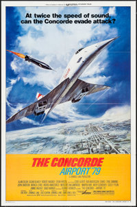 """The Concorde: Airport '79 (Universal, 1979). One Sheets (2) (27"""" X 41"""") Style A & B, Lobby Card Set of..."""