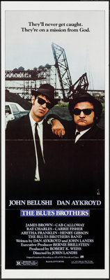 """The Blues Brothers (Universal, 1980). Insert (14"""" X 36""""). Comedy"""