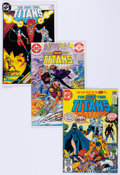 Modern Age (1980-Present):Superhero, New Teen Titans Box Lot (DC, 1980s) Condition: Average VF....