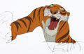 Animation Art:Production Cel, The Jungle Book Shere Khan Production Cel (Walt Disney,1967)....