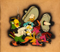 Animation Art:Limited Edition Cel, The Three Caballeros Donald Duck, Jose Carioca, and PanchitoCourvoisier Limited Edition Cel (Walt Disney, 1944)....