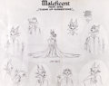 animation art:Model Sheet, Sleeping Beauty Oversized Maleficent Studio Model Sheet(Walt Disney, 1959).... (Total: 2 Items)