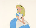 Animation Art:Production Cel, Alice In Wonderland Production Cel (Walt Disney, 1951)....