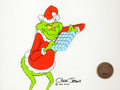 Animation Art:Production Cel, Doctor Seuss' How the Grinch Stole Christmas GrinchProduction Cel Setup (MGM, 1966)....