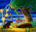 Animation Art:Concept Art, The Jungle Book Multi-Character Concept/Publicity Painting (Walt Disney, 1967)....