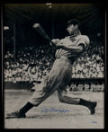 Baseball Collectibles:Uniforms, Joe DiMaggio Signed Oversized Photograph....