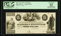 Huntsville, AL- Bank of the State of Alabama $3 UNL Rosene UNL Proof