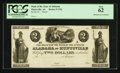 Huntsville, AL- Bank of the State of Alabama $2 UNL Rosene UNL Proof