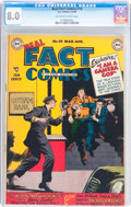 Golden Age (1938-1955):Non-Fiction, Real Fact Comics #19 (DC, 1949) CGC VF 8.0 Off-white to whitepages....