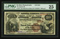 National Bank Notes:Pennsylvania, DuBois, PA - $10 1882 Brown Back Fr. 487 The Deposit NB Ch. #(E)5019. ...