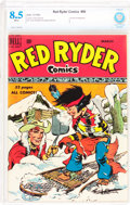 Golden Age (1938-1955):Western, Red Ryder Comics #80 (Dell, 1950) CBCS VF+ 8.5 White pages....