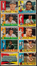 Baseball Cards:Lots, 1960 Topps Baseball Collection (635)....