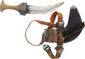 Edged Weapons:Daggers, Indo-Arab Jambiya Dagger....