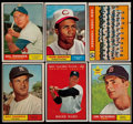 Baseball Cards:Lots, 1961 Topps Baseball Collection (336). ...