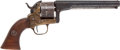 Handguns:Muzzle loading, Moore Patent Firearms Co. Single Action Belt Revolver withAssociated Holster....