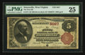 National Bank Notes:West Virginia, Sistersville, WV - $5 1882 Brown Back Fr. 474 The First NB Ch. #5027. ...