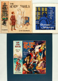 Books:Prints & Leaves, [Original Art]. Collection of Three Original Dust JacketIllustrations, Two SIGNED. Circa 1929 - 1950. ...