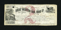 Obsoletes By State:Iowa, Camanche, IA- Great Western Rail Road Co. $2 Jan. 1, 1858. ...