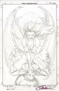 Original Comic Art:Covers, Billy Tucci - Heroes For Hire #5 Cover Pencils Original Art(Marvel, 2007)....