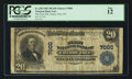 National Bank Notes:Pennsylvania, Cherry Tree, PA - $20 1902 Plain Back Fr. 650 The First NB Ch. #7000. ...